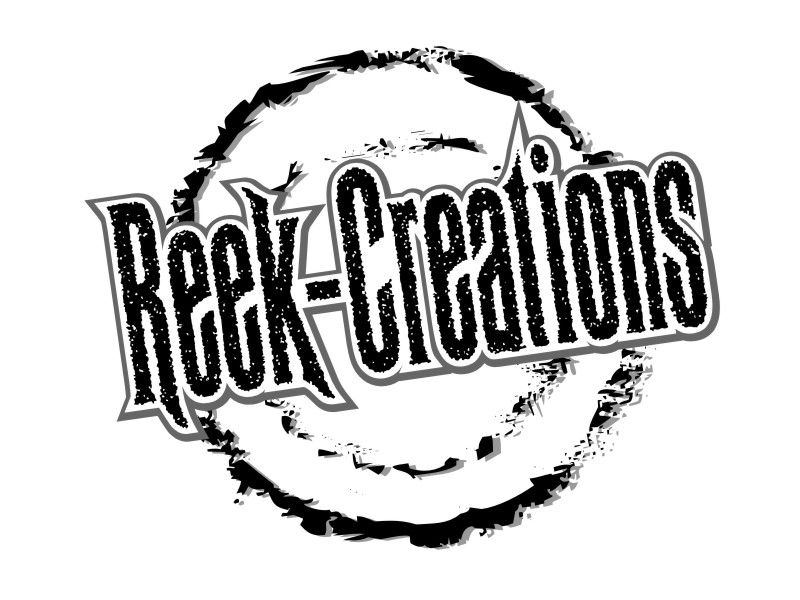 This is an example of a logo created by Reek Creations