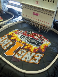 Reek Creations Custom Apparel Embroidery